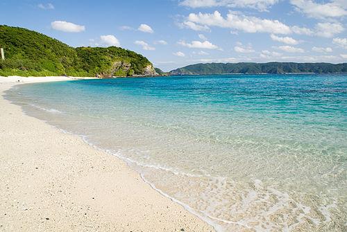 Beach at Okinawa
